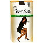 L'eggs Brown Sugar Regular Panty Sandalfoot Ultra Ultra Sheer Pantyhose, Coffee, Medium- 1 pr