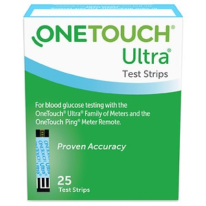OneTouch Ultra Blue Test Strips- 25 ea