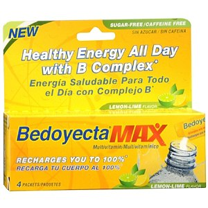 Bedoyecta Max Multivitamin Drink Mix Powder- 4 Ounces