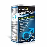 Naturade Vitali-T-Aid Testosterone Booster Dietary Supplement Capsule- 60 Each