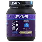 EAS 100% Pure Whey Protein Powder, Creamy Vanilla- 2 lb