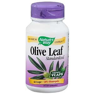 Nature's Way Olive Leaf Standardized Dietary Supplement Vegetarian Vcaps