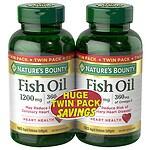Nature's Bounty Fish Oil 1200 mg Rapid Release, Liquid Softgels,