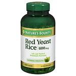 Nature's Bounty Red Yeast Rice 600 mg Dietary Supplement