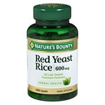 Nature's Bounty Red Yeast Rice 600 mg, Capsules- 120 ea