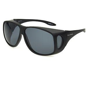 Solar Shield Fits Over Classic Polarized Plastic Sunglasses Size XL- 1 ea