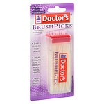 The Doctor's Brush Picks Interdental Toothpicks- 120 Each
