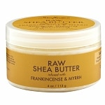 SheaMoisture Raw Shea Butter Infused with Frankincense & Myrrh- 4 Ounces