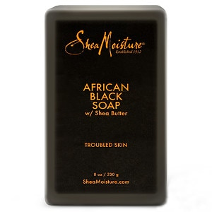 Shea Moisture Organic Bar Soap, African Black&nbsp;