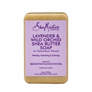 SheaMoisture Lavender & Wild Orchid Shea Butter Soap- 8 Ounces