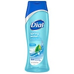 Dial Antibacterial Body Wash With Moisturizers, Spring Water