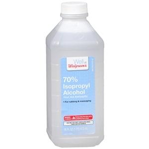 Walgreens Isopropyl Alcohol 70% First Aid Antiseptic, 16 fl oz