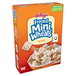 Frosted Mini Wheats Bite Size Lightly Sweetened Whole Grain Cereal