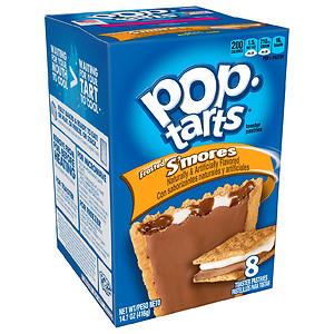 Pop Tarts Toaster Pastries, S'mores, 8 pk- 1.84 oz