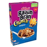 Kellogg's Raisin Bran Crunch Cereal- 18.2 Ounces