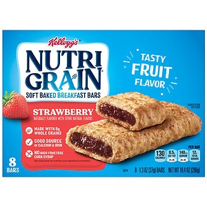 Nutri-Grain Cereal Bars, Strawberry, 8 pk- 1.3 oz