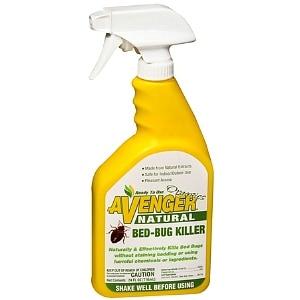 Avenger Organics Natural Bed-Bug Killer- 24 fl oz