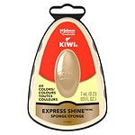 Kiwi Express Shine Instant Shoe Shine Sponge, Neutral