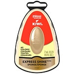 Kiwi Express Shine Instant Shoe Shine Sponge, Neutral- .23 fl oz