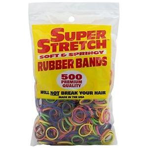 Super Stretch Rubber Bands- 500 Each