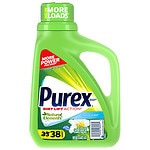 Ultra Purex Natural Elements Laundry Detergent Liquid, Linen & Lilies- 50 fl oz