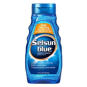 Selsun Blue Dandruff Shampoo, Deep Cleansing