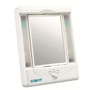 Conair Illumina 2S Lighted Makeup Mirror W/4 L Set, TM8LX, White- 1 ea