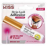 Kiss Strip Eyelash Adhesive, Clear