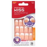 Kiss Everlasting French Glue-On Nails Kit, Perpetual, Medium Length