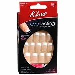 Kiss Everlasting French Glue-On Nails Kit, Unlimited, Medium Length
