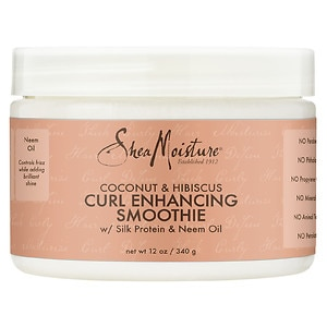 SheaMoisture Coconut & Hibiscus Curl Enhancing Smoothie, 12 Ounces