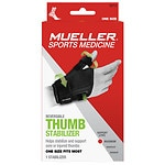 Mueller Thumb Stabilizer, Maximum Support, Model 62712, Black, One Size- 1 ea