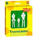 TravelJohn Disposable Vomit/Urine Eco-Bags- 5 Each
