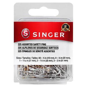 Singer Safety Pins- 225 ea