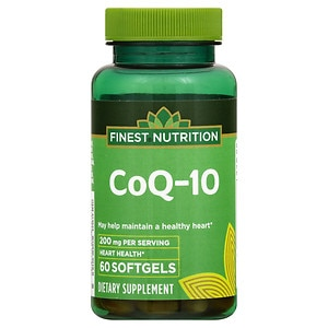 Finest Nutrition CO Q-10 200mg, Softgels- 60 ea