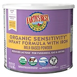 Earth's Best Organic Sensitivity Infant Formula- 23.2 oz