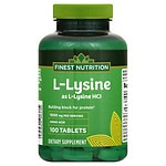 Finest Nutrition Lysine 1000 Mg Tablet
