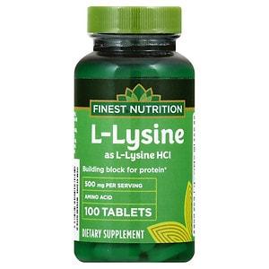 Upc 311917139586 Finest Nutrition L Lysine 500 Mcg