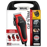 Wahl Clip 'N Trim Haircut Kit, Model  79900-1501, Red/Black