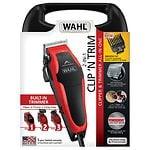 Wahl Clip 'N Trim Haircut Kit, Model  79900-1501, Red/Black- 1 ea