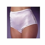 Wearever Women's Nylon and Lace Incontinence Panty, Small, White