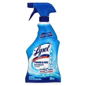 Lysol Power & Free Bathroom Cleaner, Cool Spring Breeze, 22 fl oz