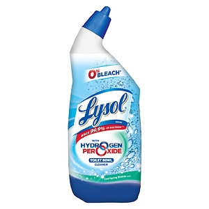 Lysol Power & Free Toilet Bowl Cleaner, Cool Spring Breeze