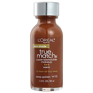 L'Oreal Paris True Match Super-Blendable Makeup, Deep Golden