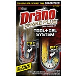 Drano Snake Plus Drain Cleaning Kit- 16 Ounces