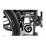 Everest & Jennings Advantage Desk Wheelchair, Elevating Legrest,