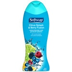 Softsoap Moisturizing Body Wash with Moisture Beads, Citrus Splash & Berry Fusion