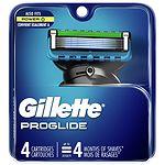 Gillette Fusion ProGlide Power Razor Blade Refills- 4 ea