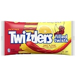 Twizzlers Filled Twists Sweet & Sour Candy, Cherry Kick & Citrus