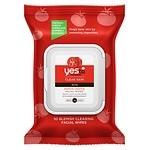 Yes to Tomatoes Clear Skin Acne Blemish Clearing Facial Towelettes- 30 ea